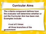 curricular aims5
