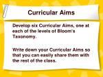 curricular aims8