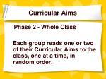 curricular aims9
