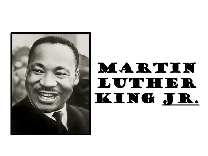 martin luther king jr n.