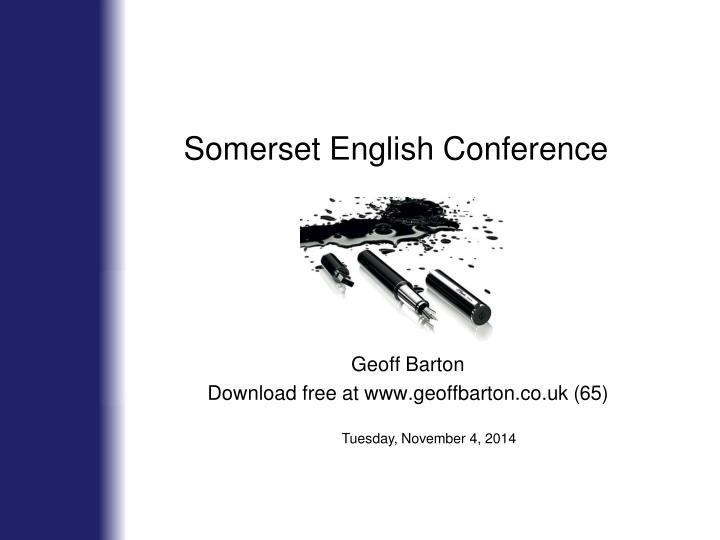 somerset english conference n.