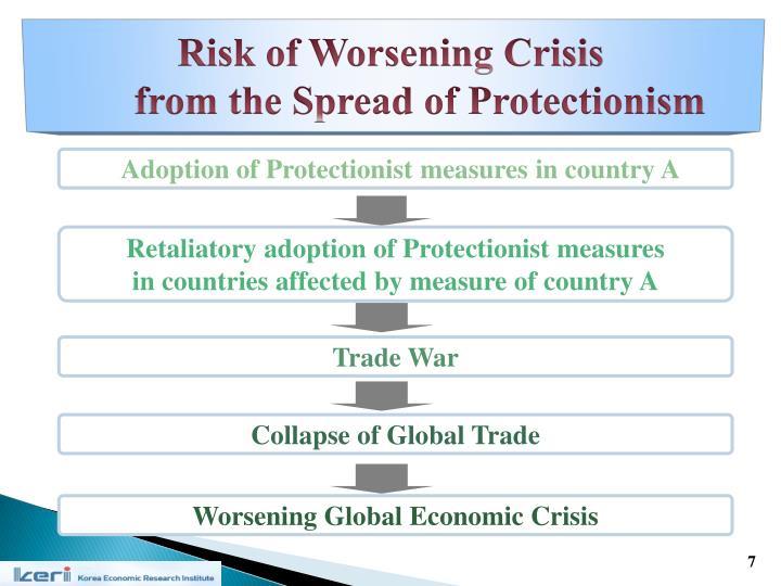 Risk of Worsening Crisis