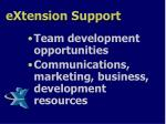 extension support1