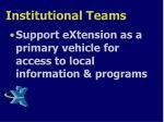 institutional teams2
