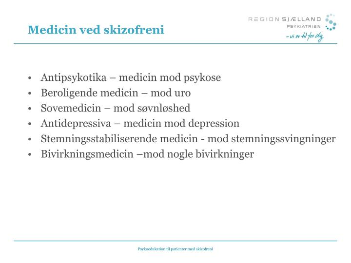 antidepressiv medicin bivirkninger