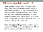 ict tools in public health 2