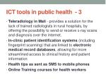 ict tools in public health 3
