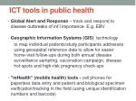 ict tools in public health