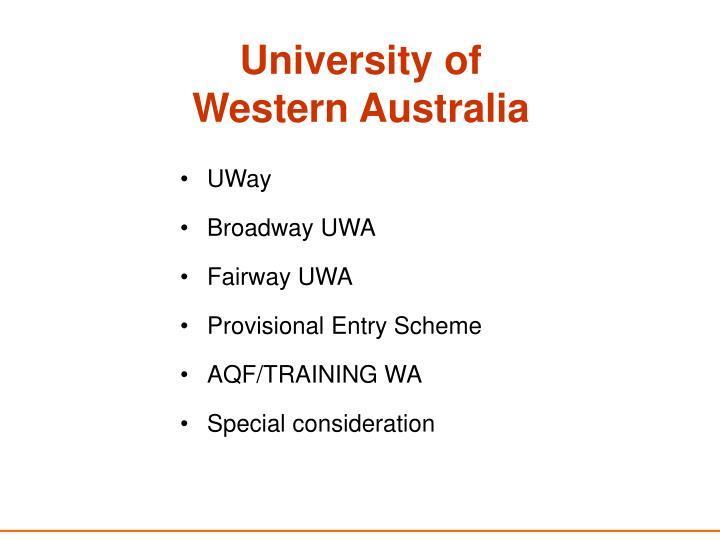 University of