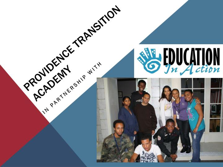 providence transition academy n.
