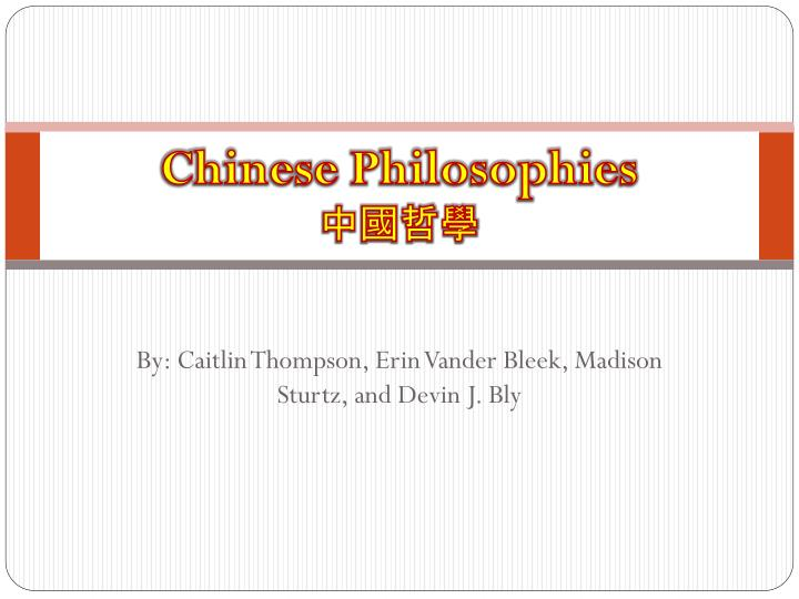 chinese philosophies n.