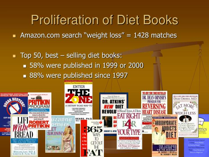 Proliferation of Diet Books