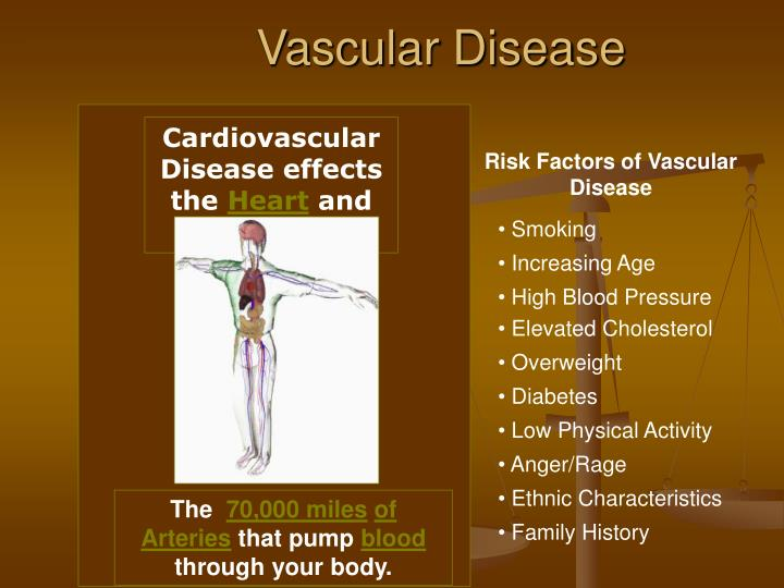Cardiovascular Disease effects the