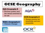 gcse geography1