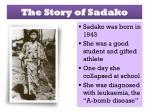 the story of sadako