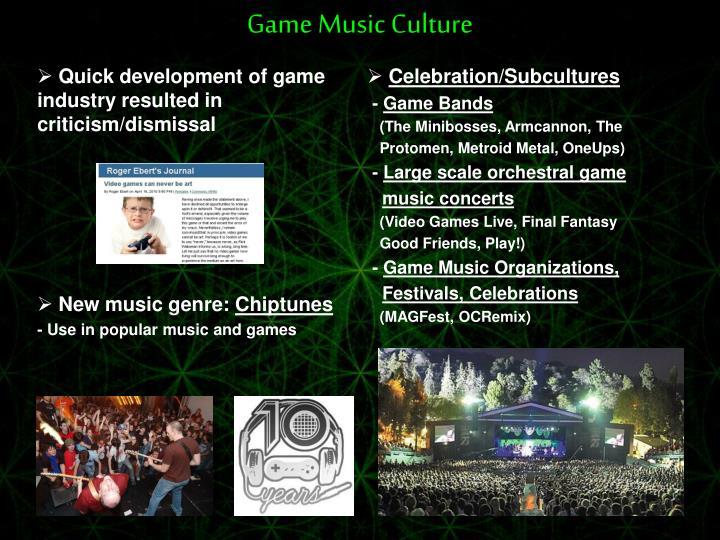 Celebration/Subcultures
