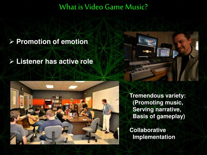 What is video game music