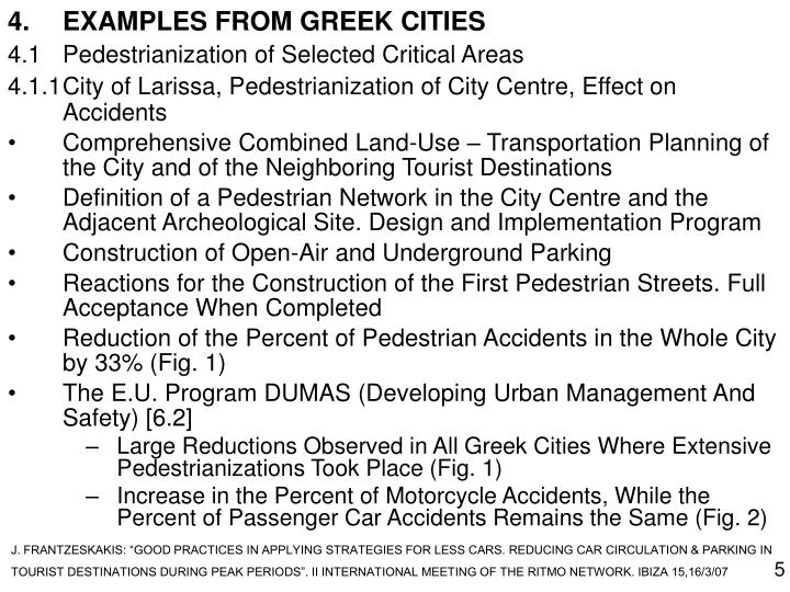 4.EXAMPLES FROM GREEK CITIES