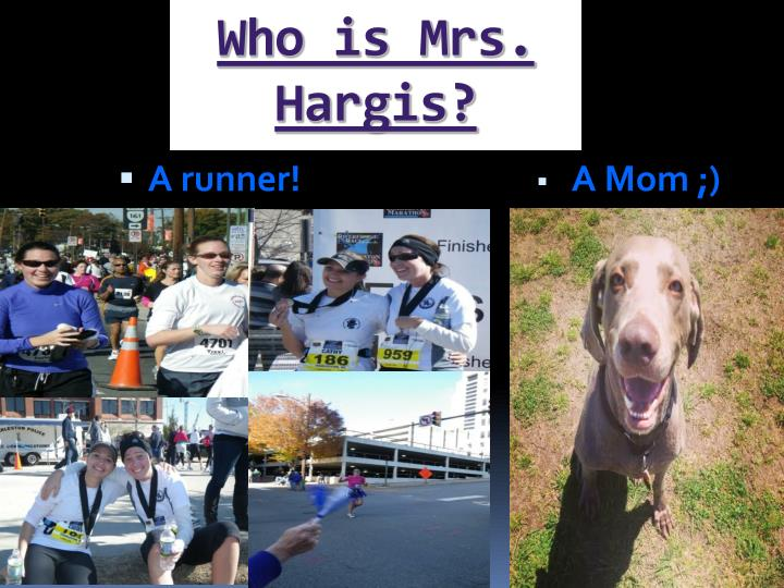 Who is mrs hargis
