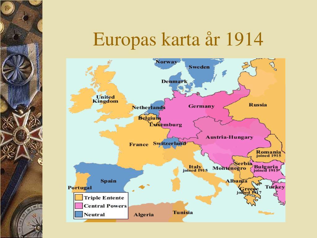 Ppt Forsta Varldskriget Powerpoint Presentation Free Download