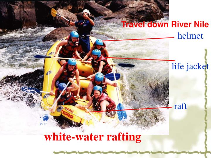 Travel down River Nile