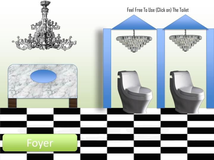Feel Free To Use (Click on) The Toilet