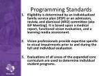 programming standards