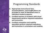 programming standards1