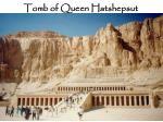 tomb of queen hatshepsut