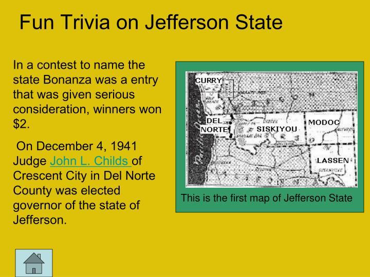 Fun Trivia on Jefferson State