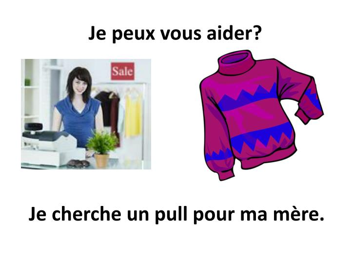 je peu x vous aider n.
