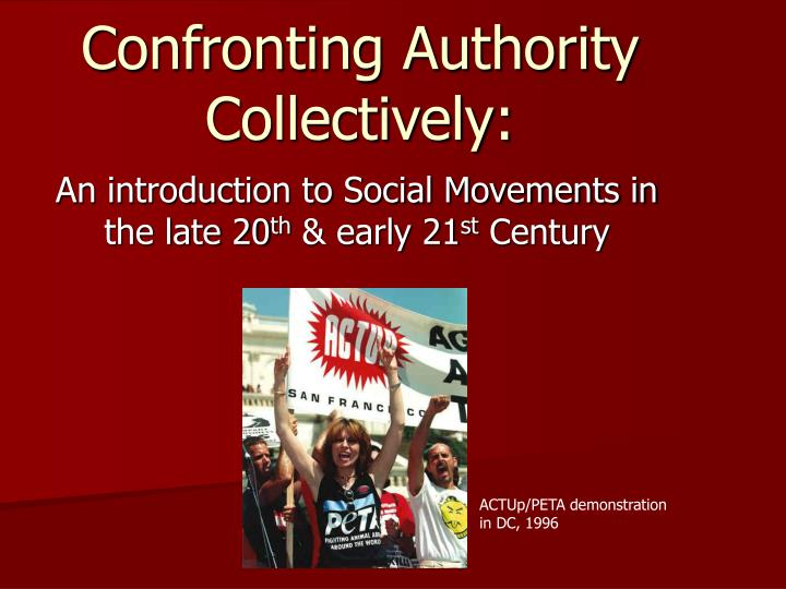 confronting authority collectively n.