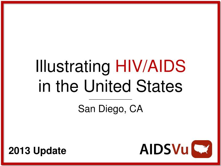 illustrating hiv aids in the united states n.