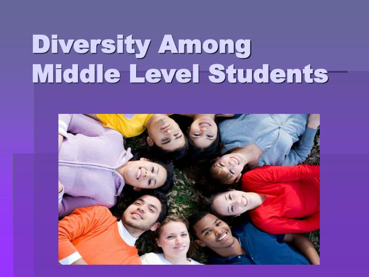 diversity among middle level students n.