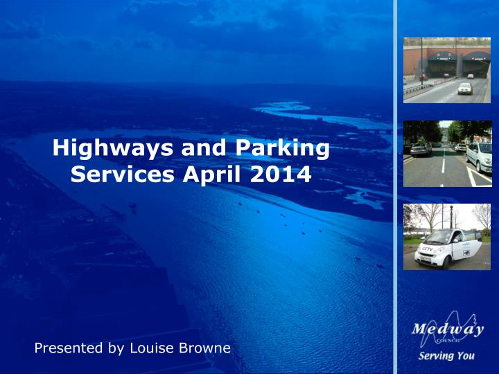 highways and parking services april 2014 n.