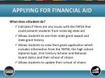 applying for financial aid10