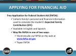 applying for financial aid3