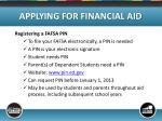 applying for financial aid5