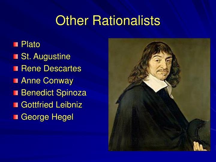 rationalism descartes spinoza and leibniz