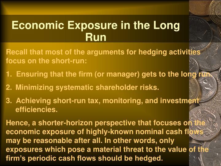 Economic Exposure in the Long Run