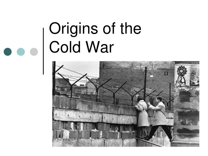 origins of the cold war n.
