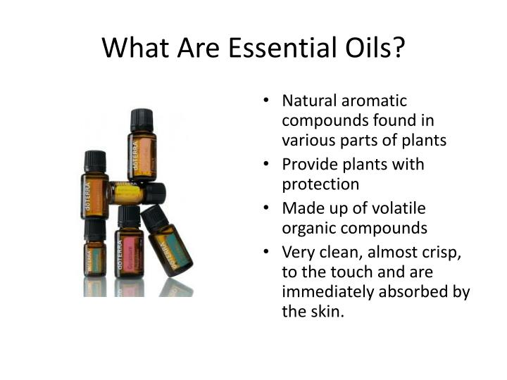 what are essential oils n.