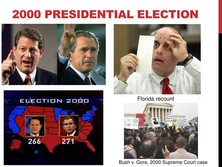 presidential election 2000 Controversial elections in the 1800 presidential election the 2000 presidential election was the most recent election where.
