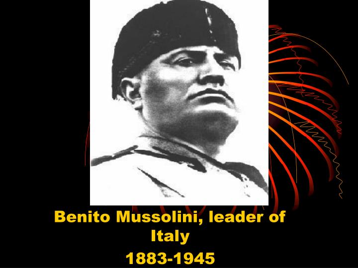 topicmussolini and fascist italy essay Home essays propaganda in fascist italy propaganda in fascist italy topics: benito mussolini  the history of italy essay italy is a country that.