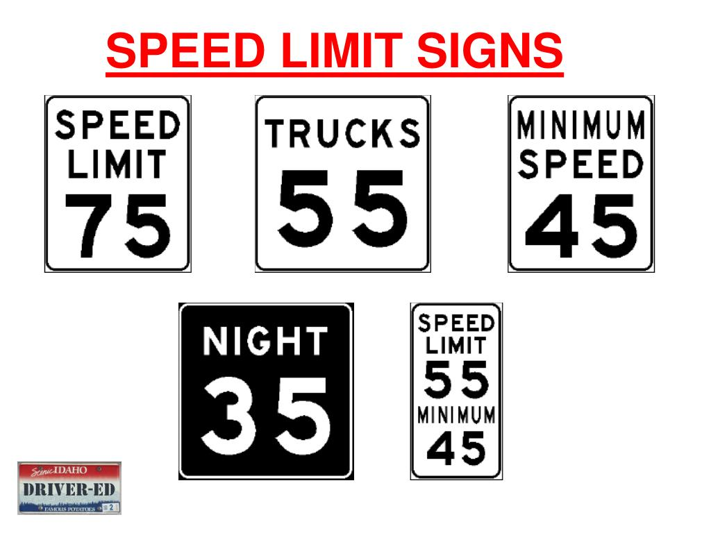 PPT - Traffic Control Devices and Traffic Laws PowerPoint ...