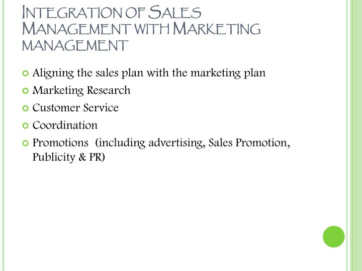 Ppt sales management amp personal selling powerpoint integration of sales management with marketing management fandeluxe Choice Image