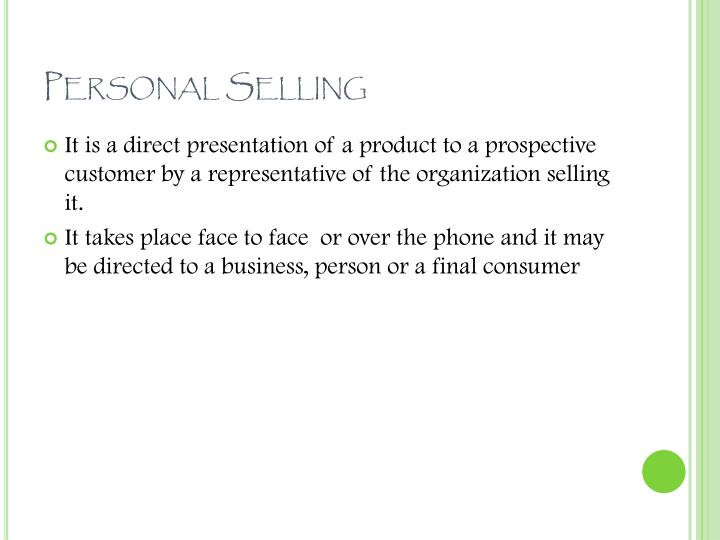 Ppt sales management amp personal selling powerpoint personal selling fandeluxe Choice Image