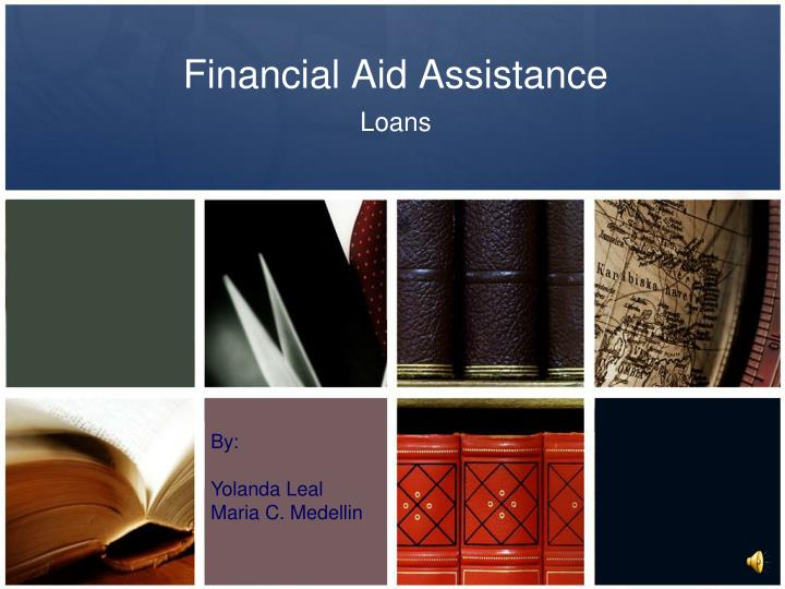 financial aid assistance n.
