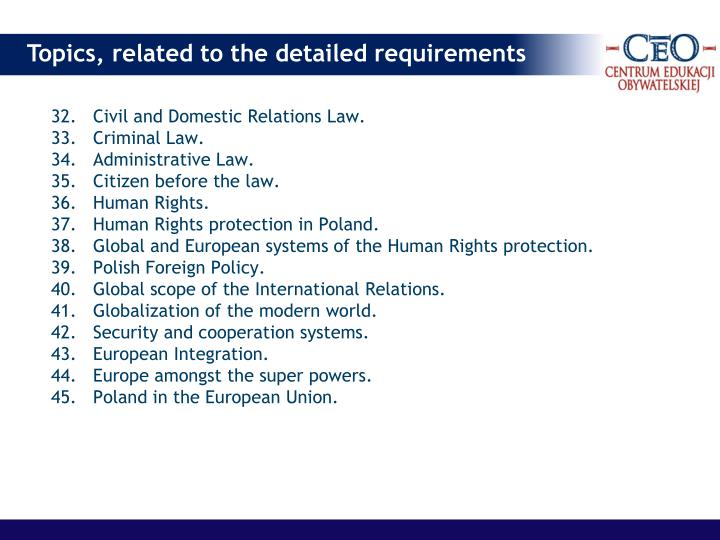 32.Civil and Domestic Relations Law.