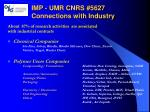 imp umr cnrs 5627 connections with industry